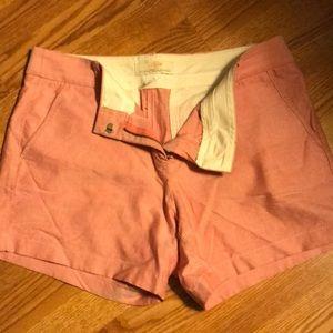 Shorts - J.Crew pink chino shorts